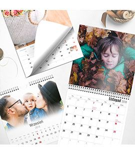 Fotokalendarze Myselfbook.pl