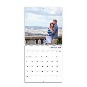 Fotokalendarz na Nowy Rok 2018 z Twoimi zdjęciami. Prosty kreator online.
