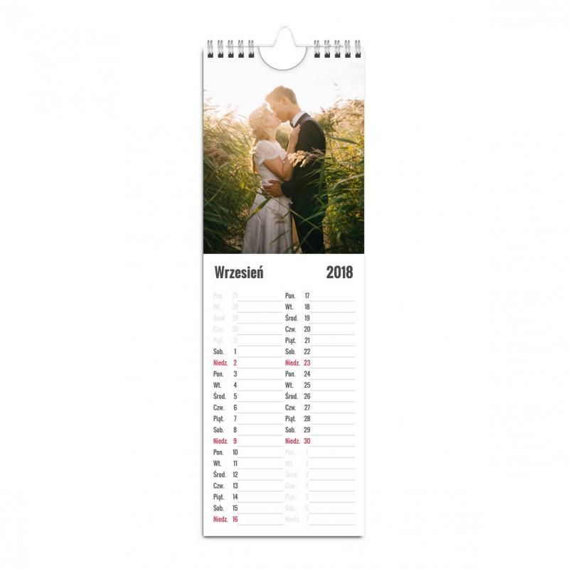 Fotokalendarz kuchenny z miejscem na notatki - gotowe projekty online