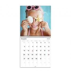 Fotokalendarz ścienny rozkładany - Klasyczny