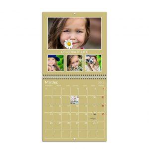 Fotokalendarz rozkładany ścienny - Planner