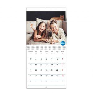 Fotokalendarz ścienny rozkładany - Rodzinny - Idealny planner