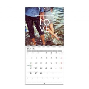 Fotokalendarścienny rozkładany - Planner 2