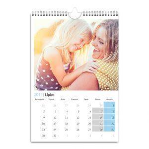 Fotokalendarz online A3 A4 Zorganizowany - idealny prezent