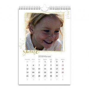 Fotokalendarz A3 A4 Na złoto - Dla rodziny