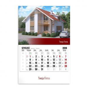 kalendarz jednodzielny szablon dla przedsiębiorców