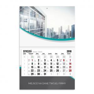 kalendarz jednodzielny szablon mój biznes