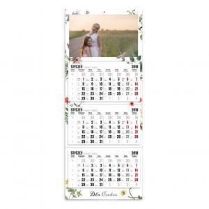 Kalendarz trójdzielny szablon Dla Ciebie