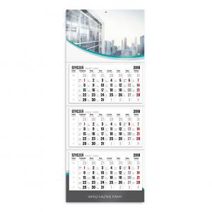 kalendarz trójdzielny szablon mój biznes