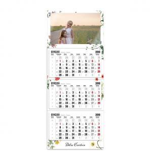 kalendarz trójdzielny z główką szablon dla ciebie
