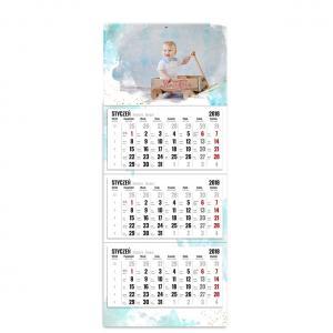 kalendarz trójdzielny z główką szablon pełen wspomnień