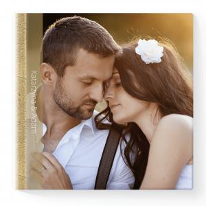 Pamiątka z Dnia Waszego Ślubu, kwadrat -szablon online Złote Wesele