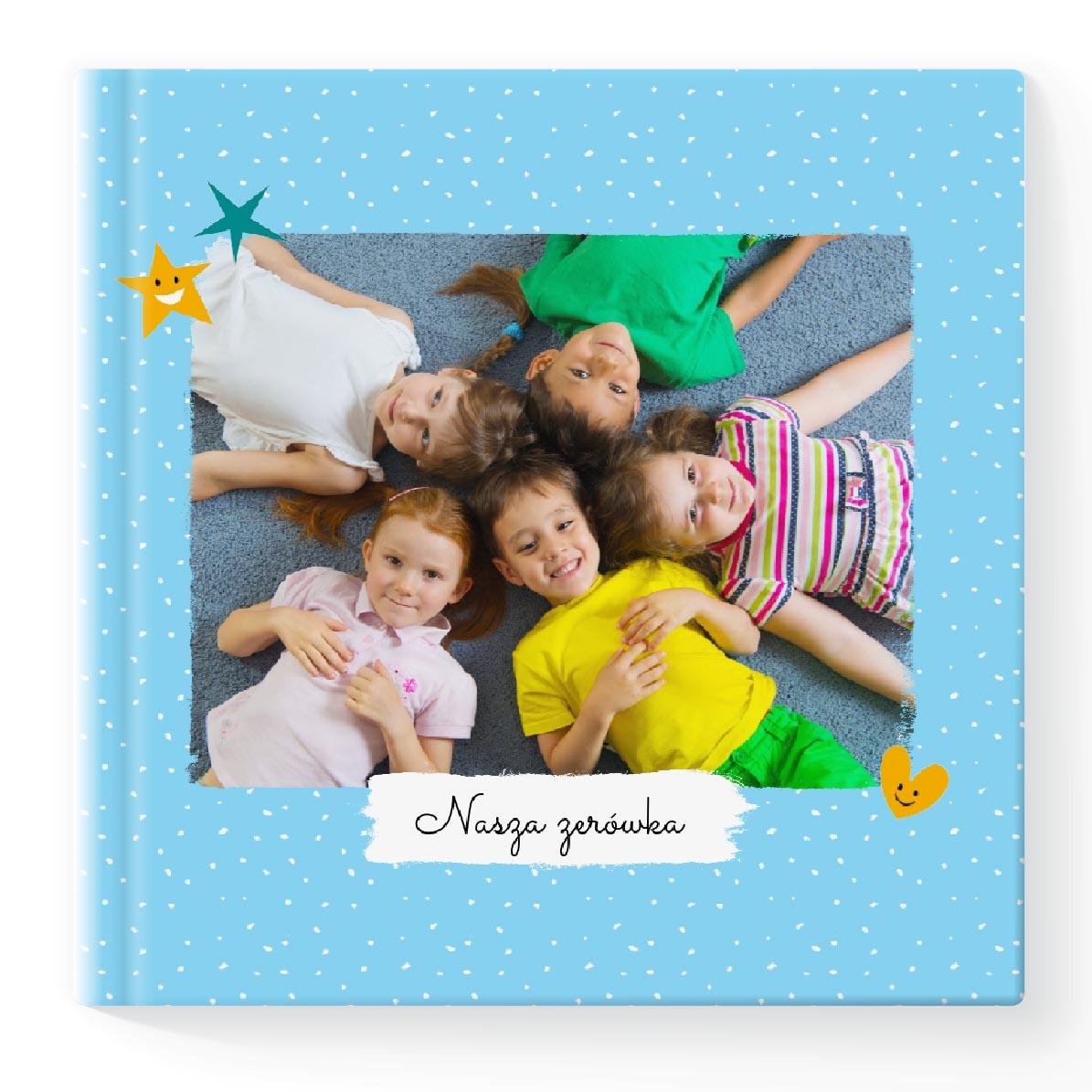 Fotoksiążka Fotoalbum Kolorowa Pamiatka 086 kwadrat 30x30