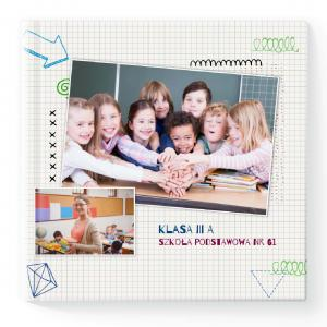 Fotoksiążka Fotoalbum Myselfbook Moja Szkoła 084 kwadrat